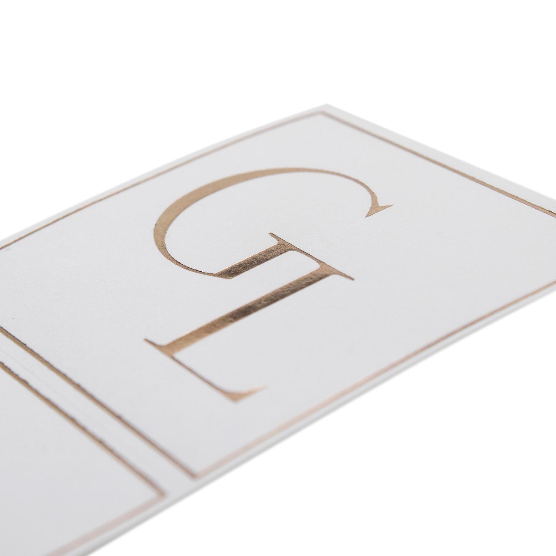 Custom printed Foil Sticker