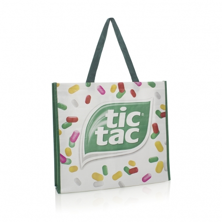 Custom Printed Reusable Woven Bag