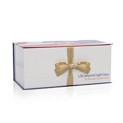 Custom Printed Ribbon Sealed Box